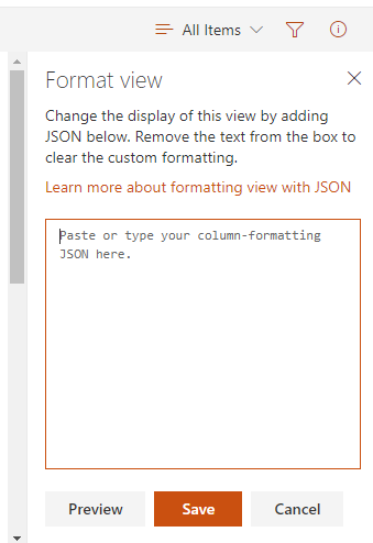 SharePoint Modern UI: View Formatting – Welcome to Danny's Blog